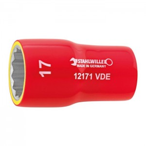 "Stahlwille VDE SOCKET 3/8"" 12171 VDE 18"