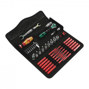 Wera Kraftform Kompakt W 1 Maintenance, 35 pieces (05135926001)