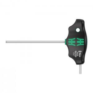 Wera T-handle hexagon screwdriver Hex-Plus 454 HF, size 3 x 10 mm