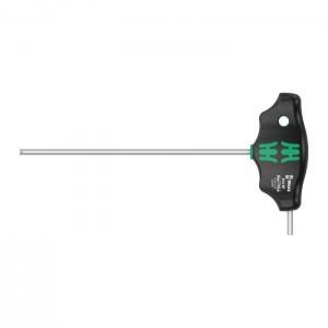 Wera T-handle screwdriver Hex-Plus 454 HF, size 1/8 - 3/8in.