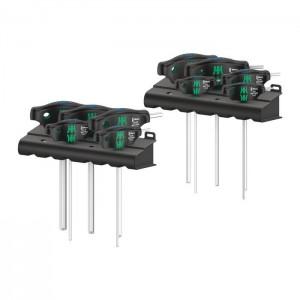 Wera 05023451001 T-handle screwdrivers Hex-Plus 454/10 HF, 10pcs.