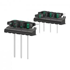 Wera 467/7 TORX® HF Set 1 screwdriver set T-handle TORX® screwdrivers with holding function, 7 pieces (05023452001)