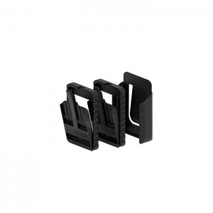 Wiha slimBit box empty, 2-pcs. with belt clip  (43164)
