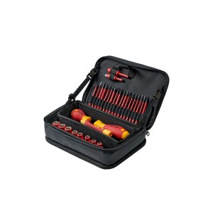 Wiha 43465 Tool set slimVario® electric, 31pcs. in pouch