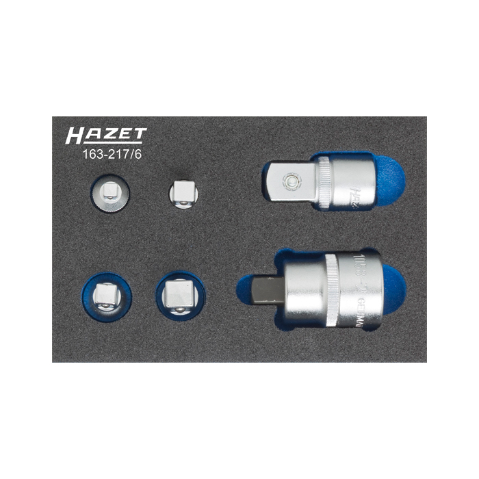 HAZET 163-217/6 Adapter-Set, 6pcs.