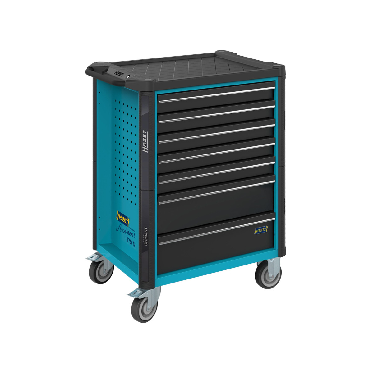 HAZET 179N-8 Tool trolley with 8 drawers