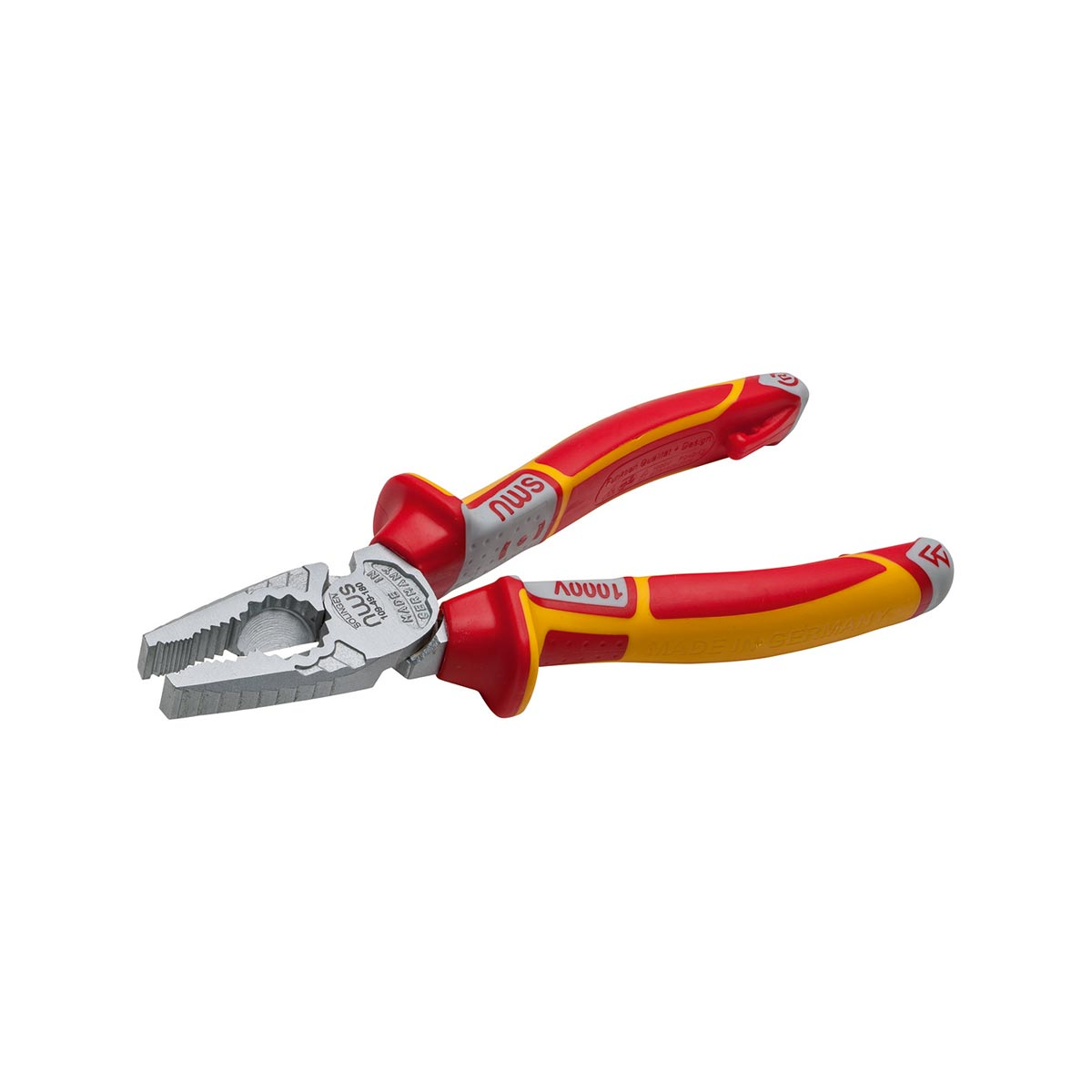 NWS High leverage combination pliers CombiMax VDE, 165 - 205 mm