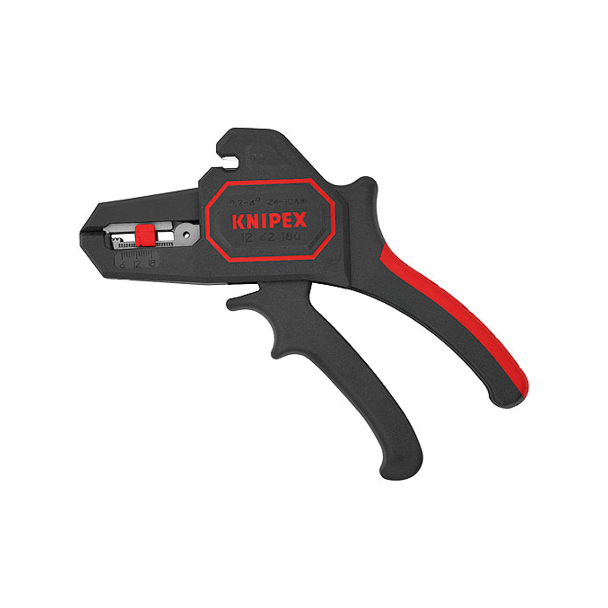 KNIPEX 12 62 180 Automatic insulation stripper, 180mm