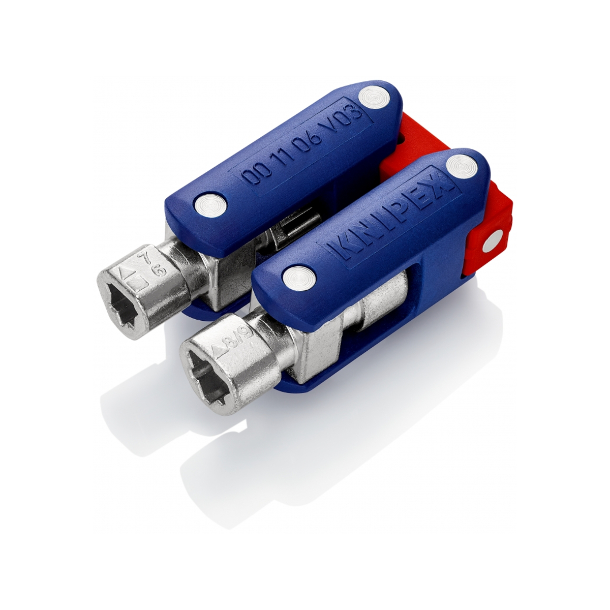 """KNIPEX 00 11 06 V03 Control Cabinet Key """"DoubleJoint"""""""
