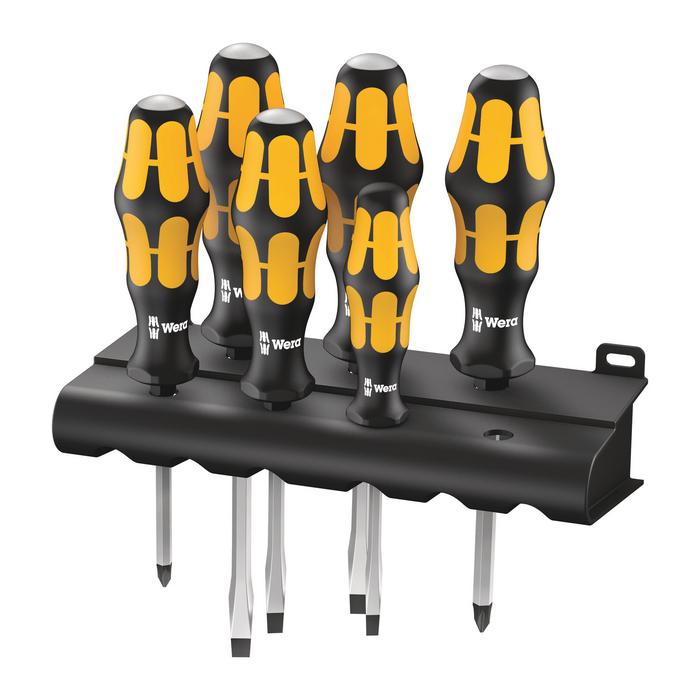 Wera 05018282001 Screwdriver set Kraftform 932/6, 6pcs.