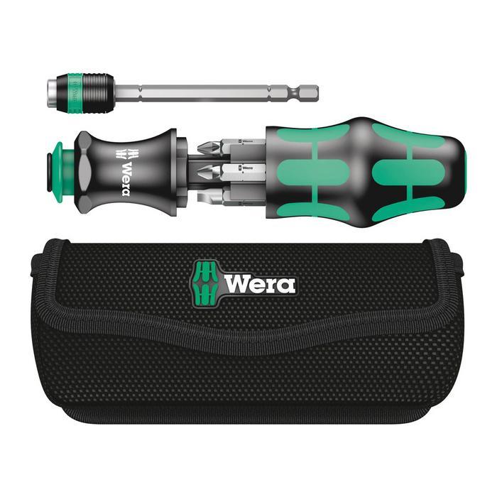 Wera 05051021001 Kraftform Kompakt 20 with pouch, 7pcs.