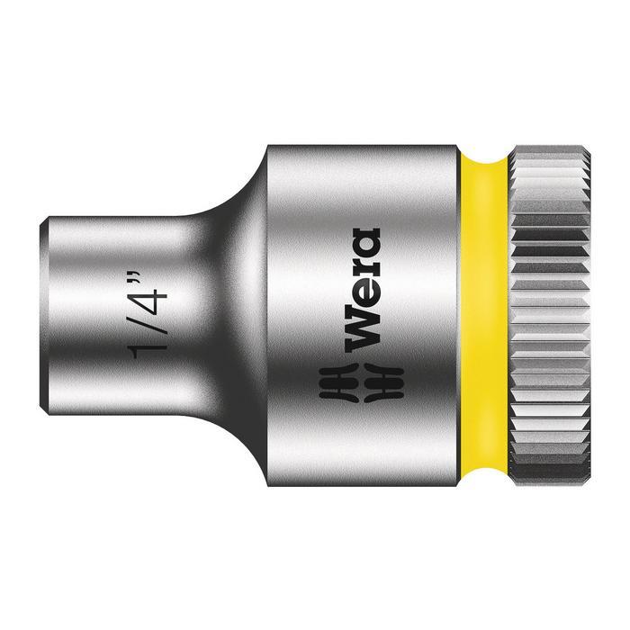 Wera Zyklop socket 8790 HMB, size 1/4 - 7/8in.