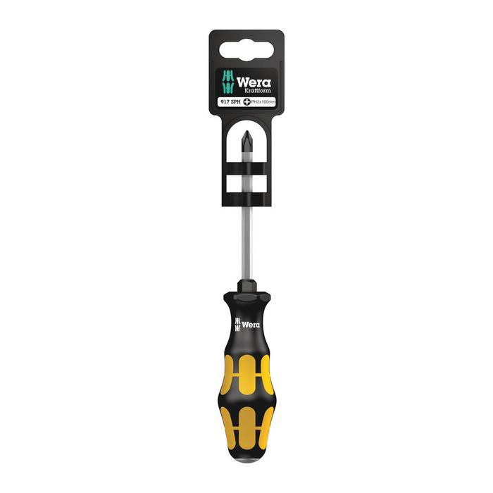 Wera Screwdriver 917 SPH SB, PH 1 - PH 3