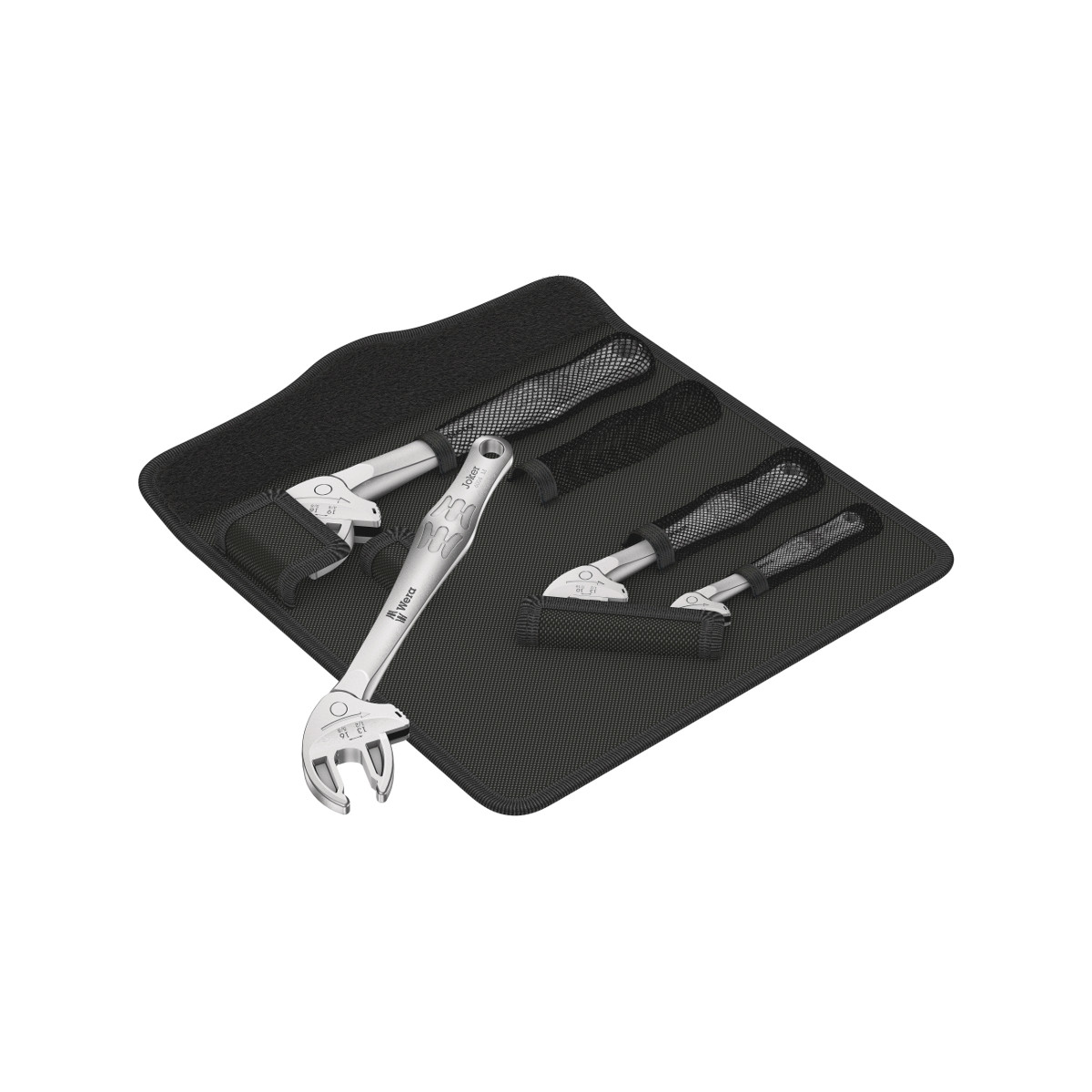 Wera 05020110001 self-setting spanner set Joker 6004, 4pcs.