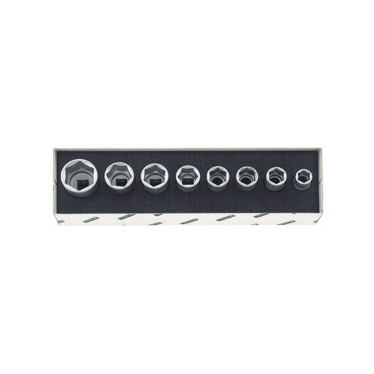 Stahlwille 96037708 Socket set 52/8, 8pcs.