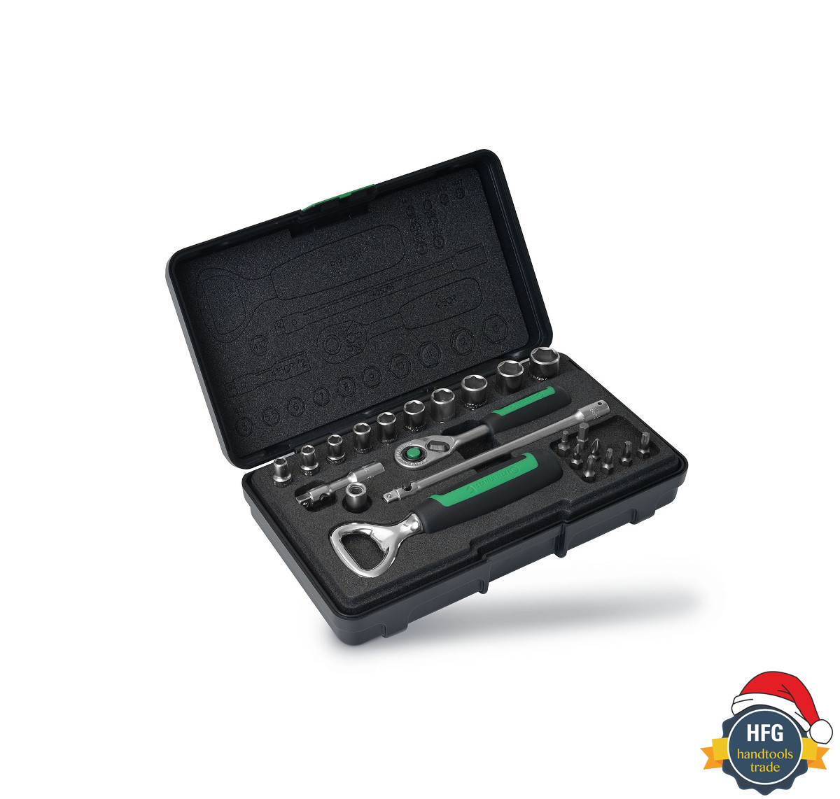 Stahlwille 90241712 Socket set, 24pcs.
