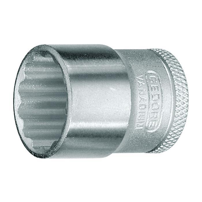Gedore VDE 30 15 3//8 15mm VDE-Screwdriver bit socket