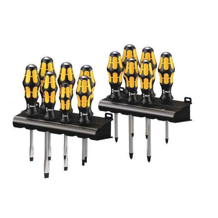 Wera 05133285001 Kraftform Screwdriver set Big Pack 900, 13pcs.