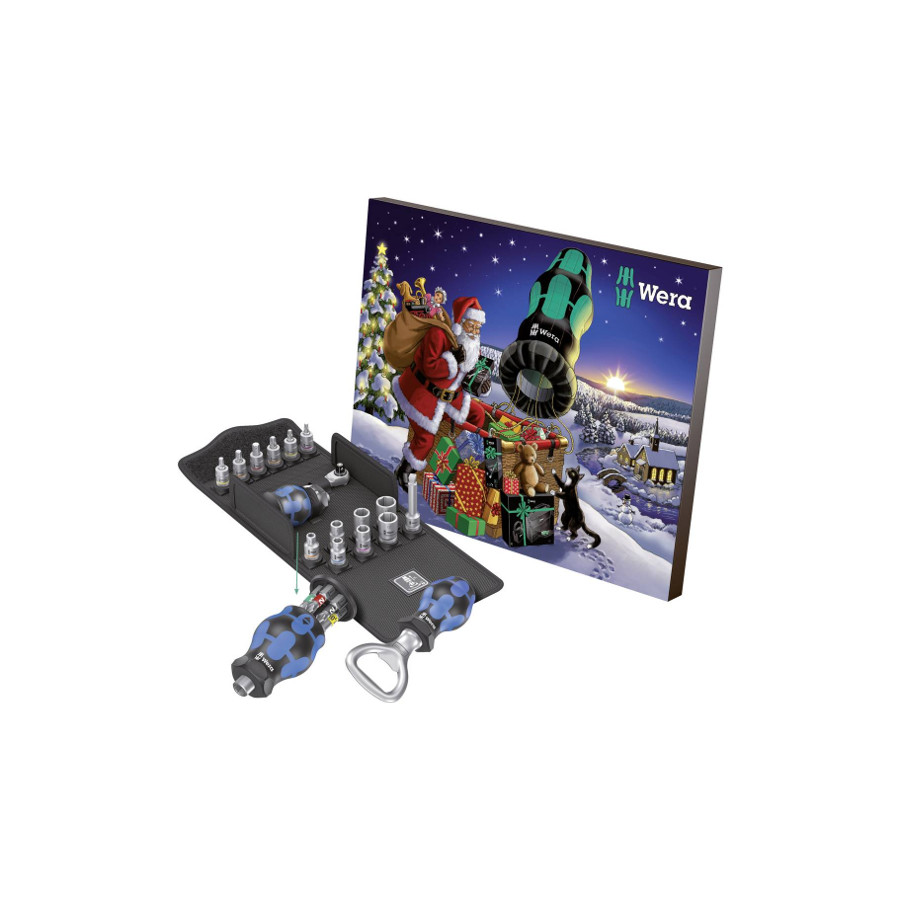 Wera 05136601001 Advent calendar 2020 - tool set 24 pcs.