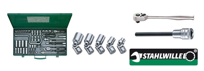 Steckschlüssel- und Schraubendrehereinsätze